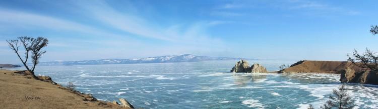 Река Ангара в пригороде Иркутска